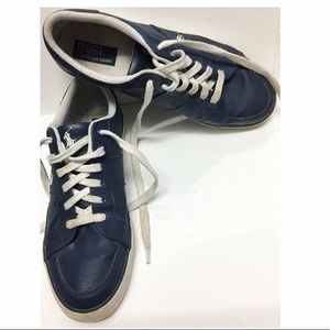 Polo Ralph Lauren | 'Harold' Blue Sneakers Wide